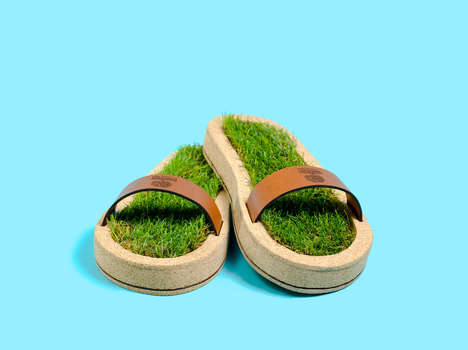 Authentic Grass Slippers