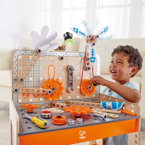Inspiring Inventor Toys - Hape's Junior Inventor Toys Encourage Kids to Make Experiments & Errors
