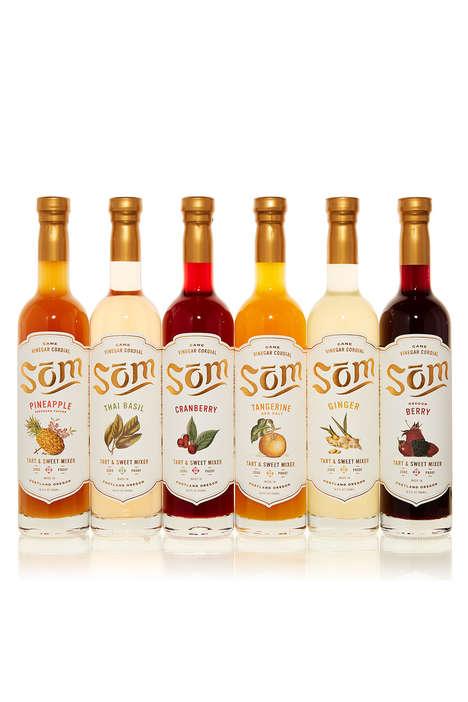 Vinegar-Based Non-Alcoholic Mixers