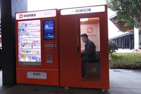 One-Minute Clinic Booths - Shanghai's 'Ping a Good Doctor' Has Serviced More Than 3 Million People