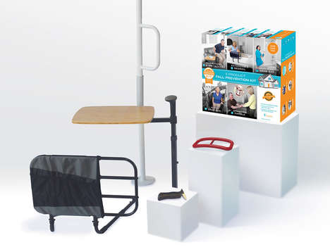 Safety-Focused Home Improvement Kits - Stander's Home Modification Kit Addresses Fall Prevention