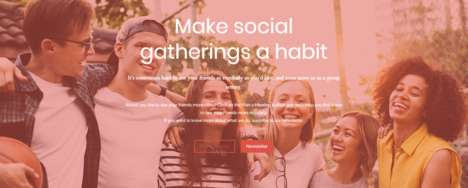 Habitual Social Activity Platforms - 'Bondsly' Enables Recurring Activities for Socialization
