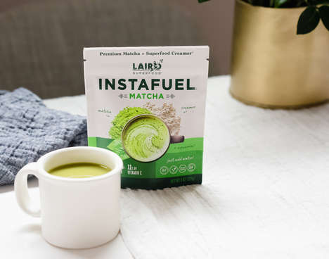 Superfood Matcha Lattes