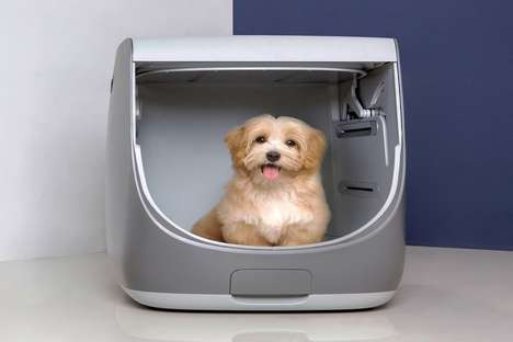Self-Contained Pet Grooming Appliances - The Conceptual 'Petstyler' Keeps Pets Looking Their Best