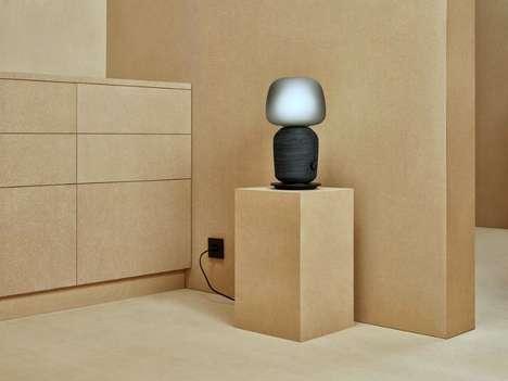 Speaker-Infused Lamps
