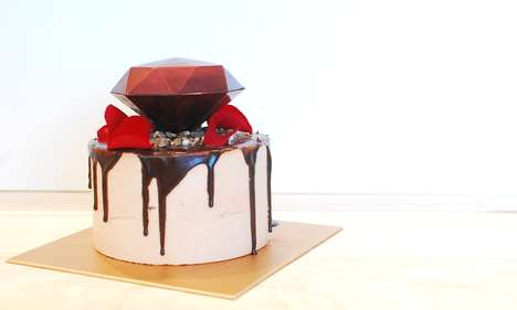 Creatively Whimsical Cake Designs - DaanGo's Desserts are Handcrafted with Imagination and Passion