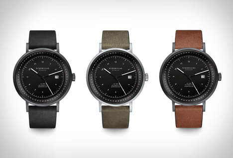 Bauhaus-Inspired Timepieces