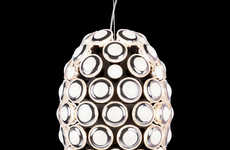 Intricate Auto-Inspired Lamps