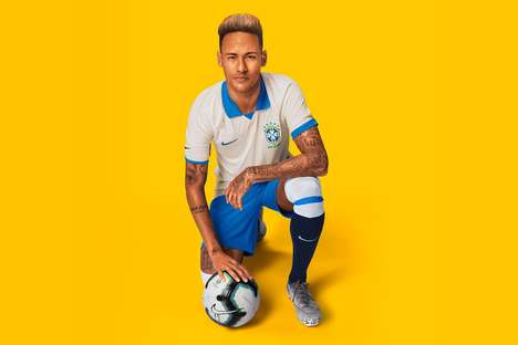 Centurion Anniversary-Honoring Kits - Nike Unveils a Special Kit For the Brazilian National Team