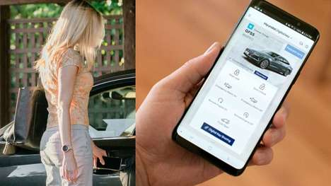 Virtual Smartphone Vehicle Keys - The Hyundai Digital Key Frees Drivers from Traditional Keys