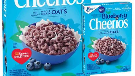 Springtime Fruit-Infused Cereals