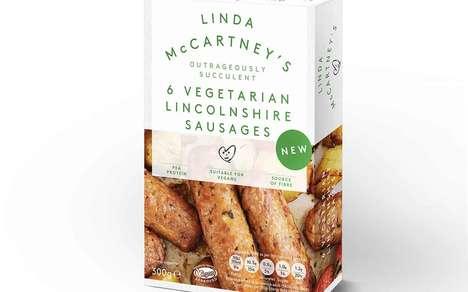 Succulent Vegan Sausages