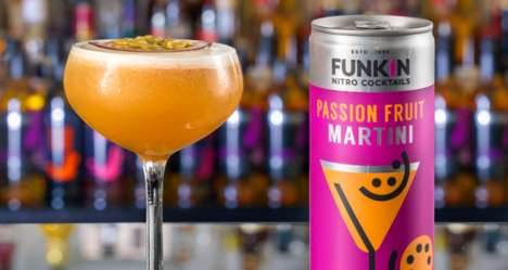 Nitrogen-Infused Canned Cocktails