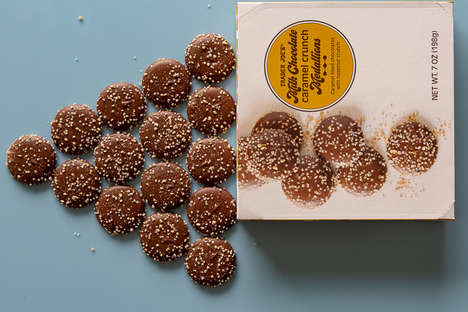 Bite-Sized Caramel Cookies