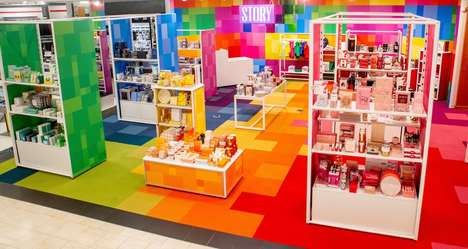 Color-Coordinated Shop-in-Shops - STORY at Macy's Encourages Exploration Through Color