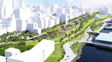 Extensive Highway Park Concepts