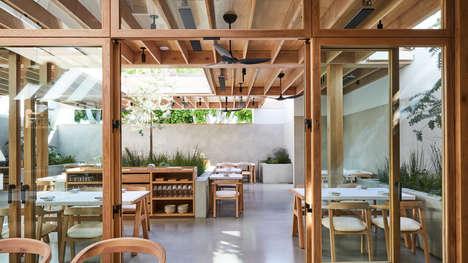 Homey Contemporary Rustic Restaurants