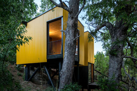 Cheerful Prefabricated House Designs
