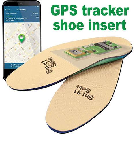 In-Shoe GPS Trackers