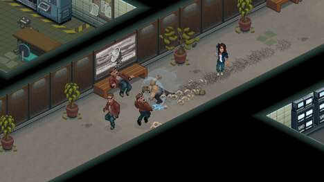 Pixelated Nostalgic Horror Games