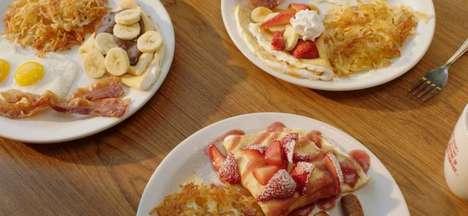 American Diner Crepe Menus