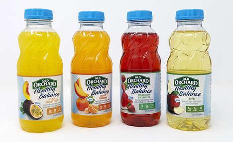 Single-Serve Low-Carb Juices