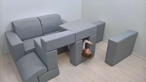 Soft Modular Furniture