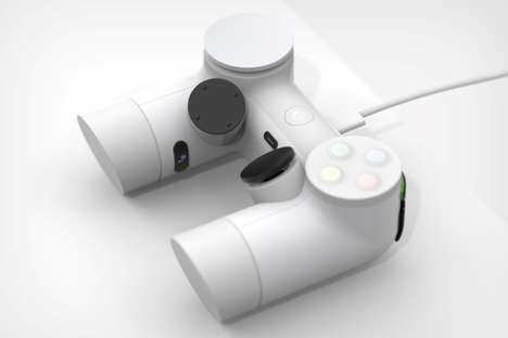 Voice Assistant Game Controllers - The Conceptual 'Playdream' Controller is Angular and Robust
