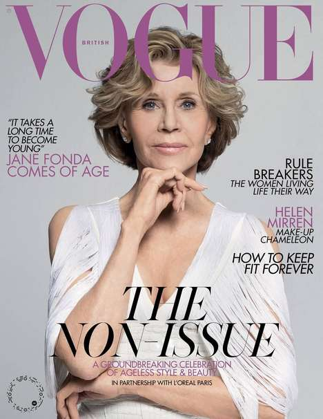 Anti-Ageism Magazine Covers