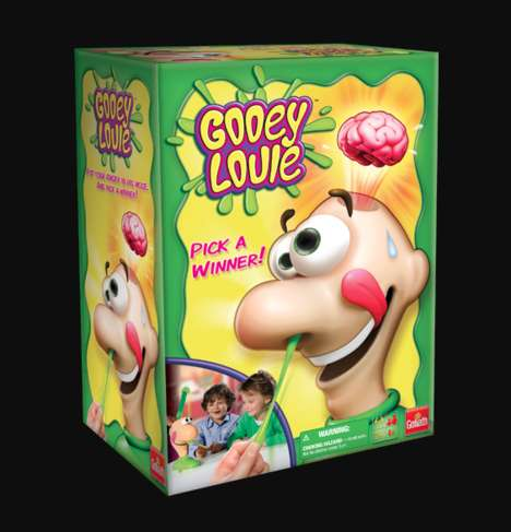 Gross-Out Booger Board Games - Gooey Louie is a Gross-Out Board Game Designed for Family Fun