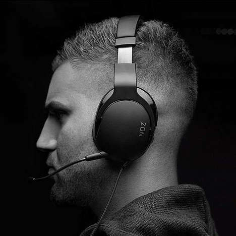Detachable Microphone eSport Headsets - The ROCCAT NOZ Lightweight Stereo Gaming Headset is Low-Cost