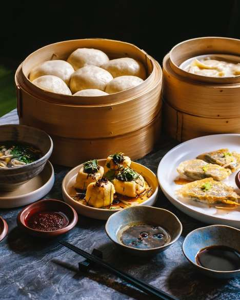 Plant-Based Dim Sum Restaurants