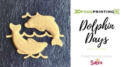 3D-Printed Hummus Dips