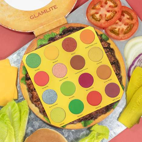 Burger-Themed Eyeshadow Palettes