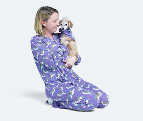Pet-Matching Pajamas - MeUndies Created Accessories for Matching Dog and Owner