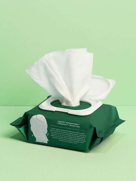 Moisture-Balancing Facial Wipes
