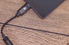 HD Smartphone Audio Enhancers - The Hidizs Sonata HD DAC Cable Transforms Mobile Performance