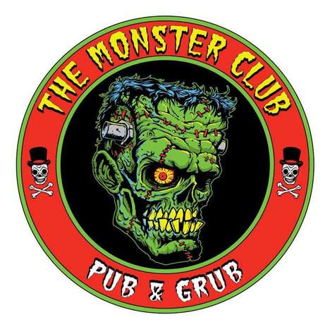 Nostalgic Horror-Themed Bars - Nebraska's The Monster Club is Inspired by Retro Films and TV Shows
