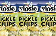 Mess-Free Pickle Chips