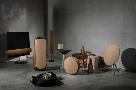 Age-Old Tonal Audio Equipment - Bang & Olufsen's Bronze Collection Elevates Home Audio