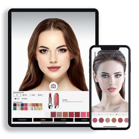 AR Makeup Discovery Apps