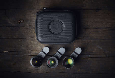 Adventurer Smartphone Lens Kits - The Black Eye Pro Kit G4 Has a Lightweight, Compact Design