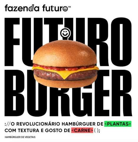 AI-Created Vegan Burgers - Fazenda Futuro's Futuro Burger Was Created with Artificial Intelligence