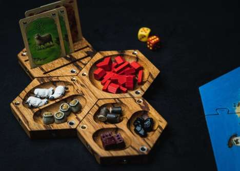 Modular Tabletop Game Organizers - The Wyrmwood Tabletop Tiles Keep Essentials Neatly Stowed