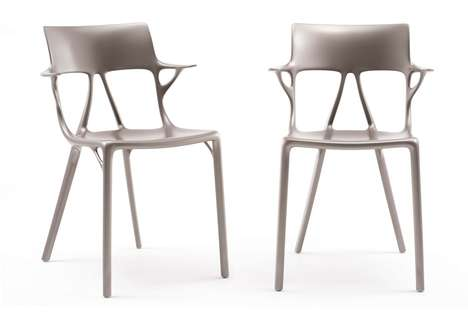 Artificial Intelligence-Crafted Chairs - Philippe Starck Explores Tech Design With The A.I Chairs
