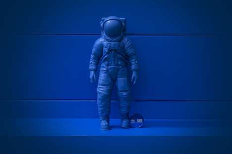 Astronaut Sculpture Collectibles - Billionaire Boys Club and adidas Join to Craft the PMS 300