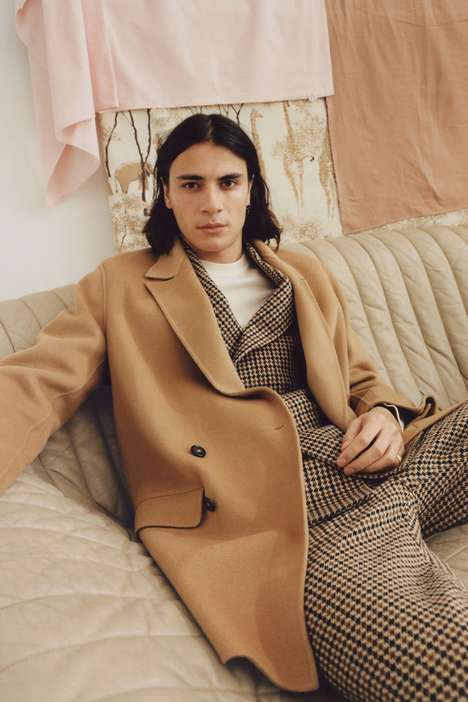 70s-Inspired Seasonal Menswear - The Nanushka Fall/Winter 2019 Range Boasts Minimal Designs