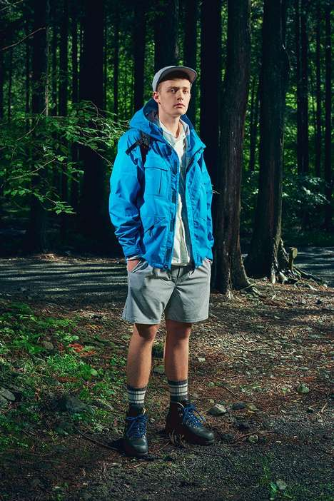 Fashion Conscious Outerwear Designs - The Woolrich Outdoor Label Ensures Sustainable Elements