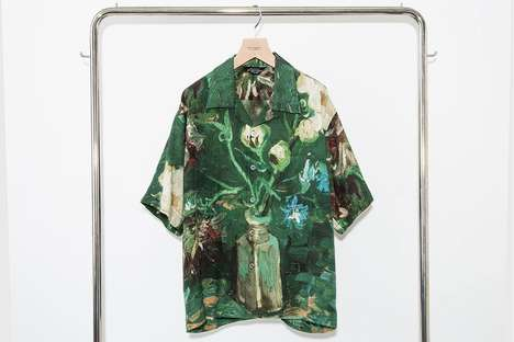 Artwork-Adorned Graphic Tees - UNUSED Works With The Van Gogh Museum on Apparel Designs
