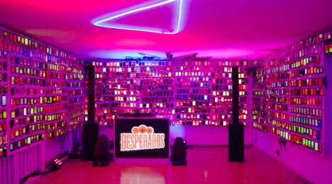 Branded Phone-Free Parties - Desperados' Event Invited People to Trade Their Phone for Beer & Dance